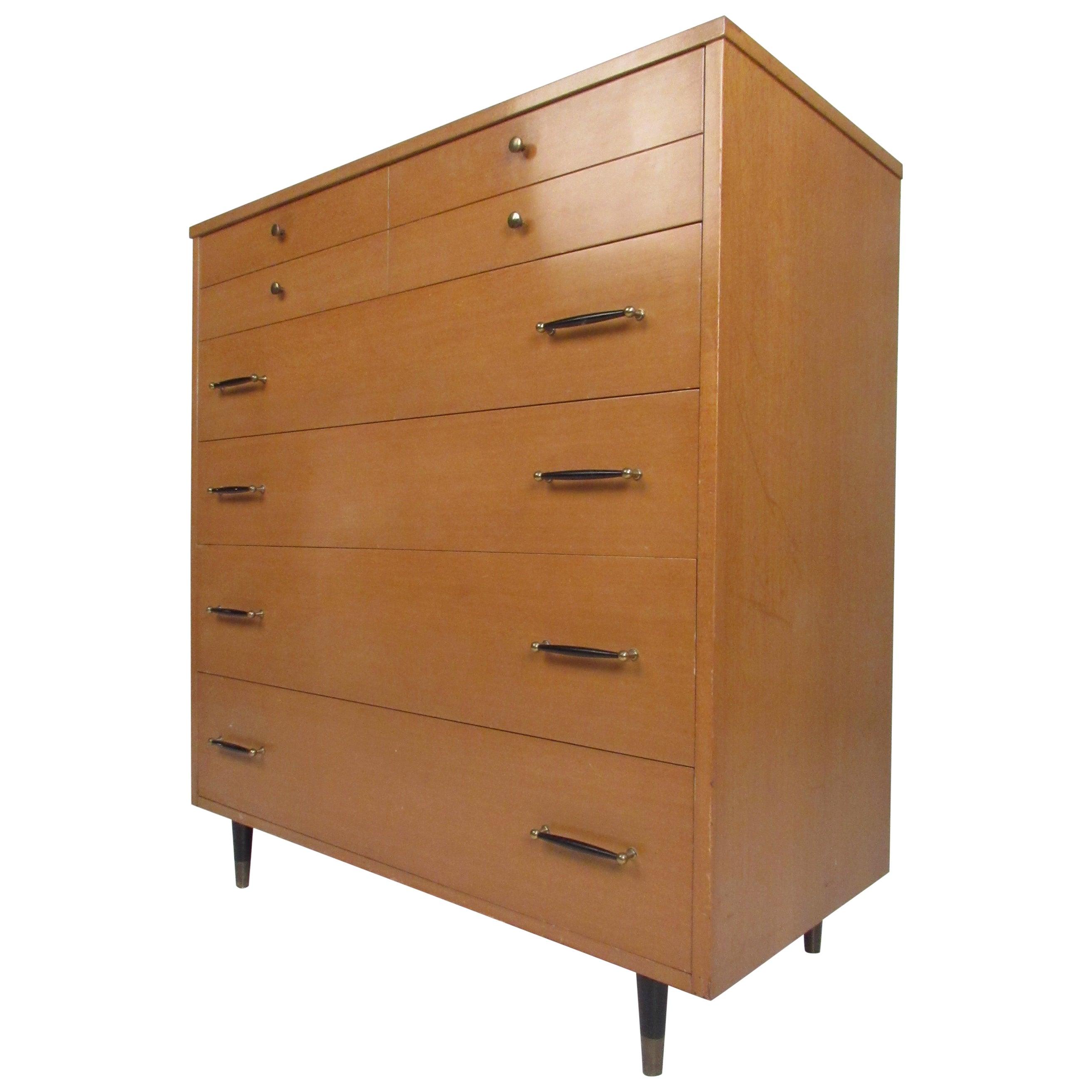 Mid-Century Modern Highboy Dresser by R-Way