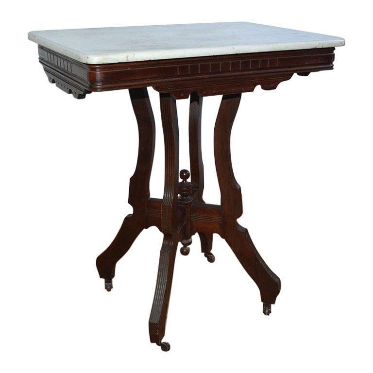Antique Eastlake Center Table
