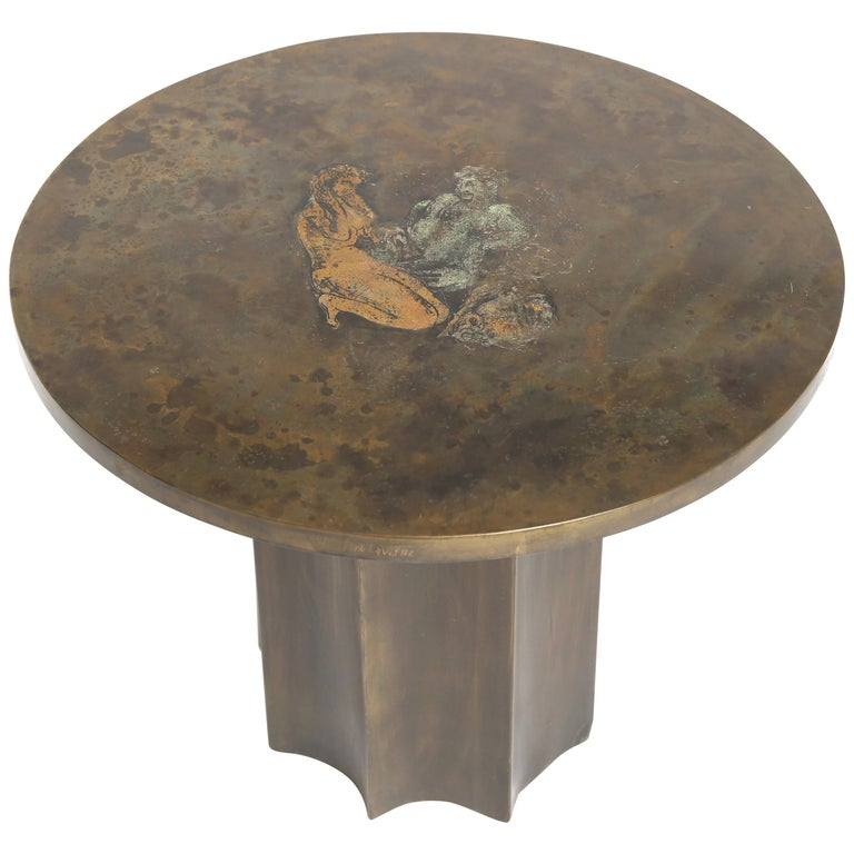 "Philip and Kelvin LaVerne ""Picasso"" Table For Sale"