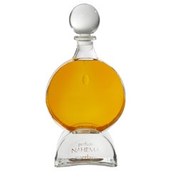 "Glass Perfume Bottle ""Nahema"" by Guerlain"