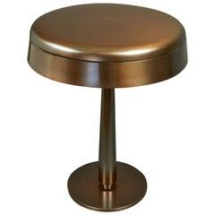 Fontana Arte Bronzed Table Lamp, Italy, circa 1960