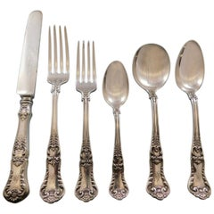 Richmond by Gorham Silver Plate Flatware Set Service 36 Pieces Dinner