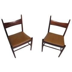 12 Vestervig Eriksen Rosewood Danish Dining Chairs