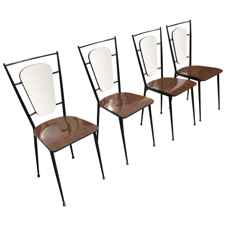 Set of 1960 Chairs For Sale