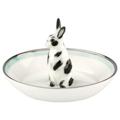 Country Style Porcelain Bowl Rabbit Figure Sofina Boutique Kitzbuehel