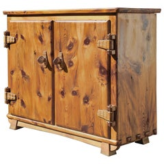Folk Art Commodes and Chests of Drawers