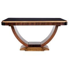 Large Coromandel Art Deco Center Table