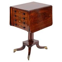 Regency Rosewood Work Table