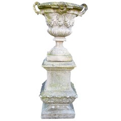Antique Vase on a Base, 20th Century