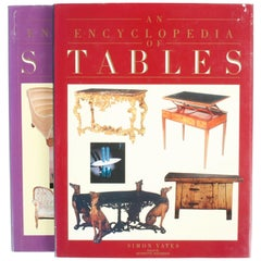 Pair of Encyclopedias: Tables and Sofas, First Edition Books