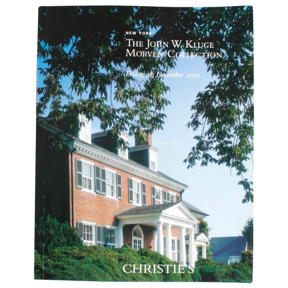 Christie's: The John W. Kluge Morven Collection, 2005
