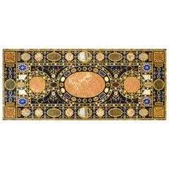 Italianate Specimen Marble Table, Pietra Dura, 19th Century, Grand Tour