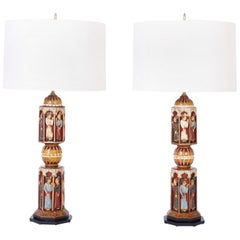 Pair of Anglo-Indian Table Lamps
