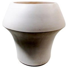 Architectural Pottery Marilyn Kay Austin Low Planter Matte White