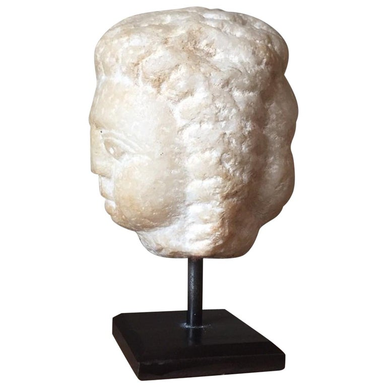 Roman Janus Head, circa 3rd Century AD For Sale