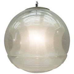 Ceiling Lamp by Carlo Nason for Mazzega, Italy, circa 1960