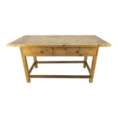 Rustic Country Style Baltic Pine Table