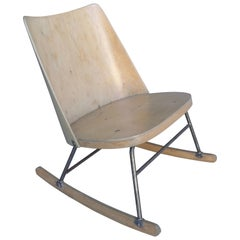 Oswald Haerdtl for Thonet Wooden Rocking Chair