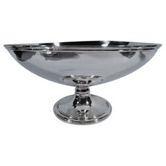 Tiffany Art Deco Sterling Silver Footed Bowl