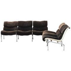 Yrjö Kukkapuro mid-century modern Set of Sofas for Haimi, 1960s.
