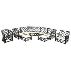 Vintage Ficks Reed Rattan Patio Furniture