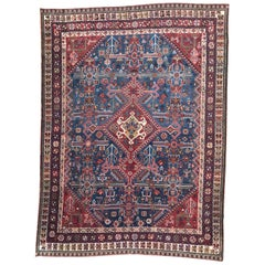 Very Beautiful Antique Hand Knotted Rug Ghashghai Style