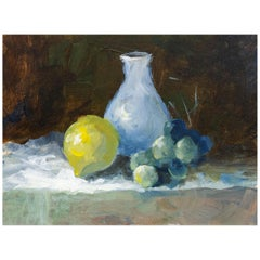 Impressionist Oil Painting Fruit Still Life