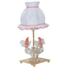 Rare Murano Table Lamp