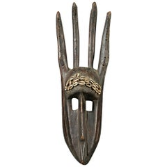 Bambara Tribal African Antelope Mask, Mali