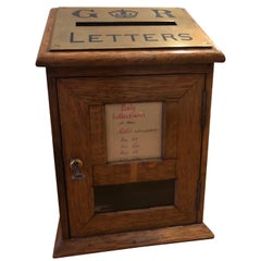 Edwardian Diminutive Post Box, Early 20th Century