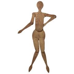 2D Plywood Marionette Mannequin