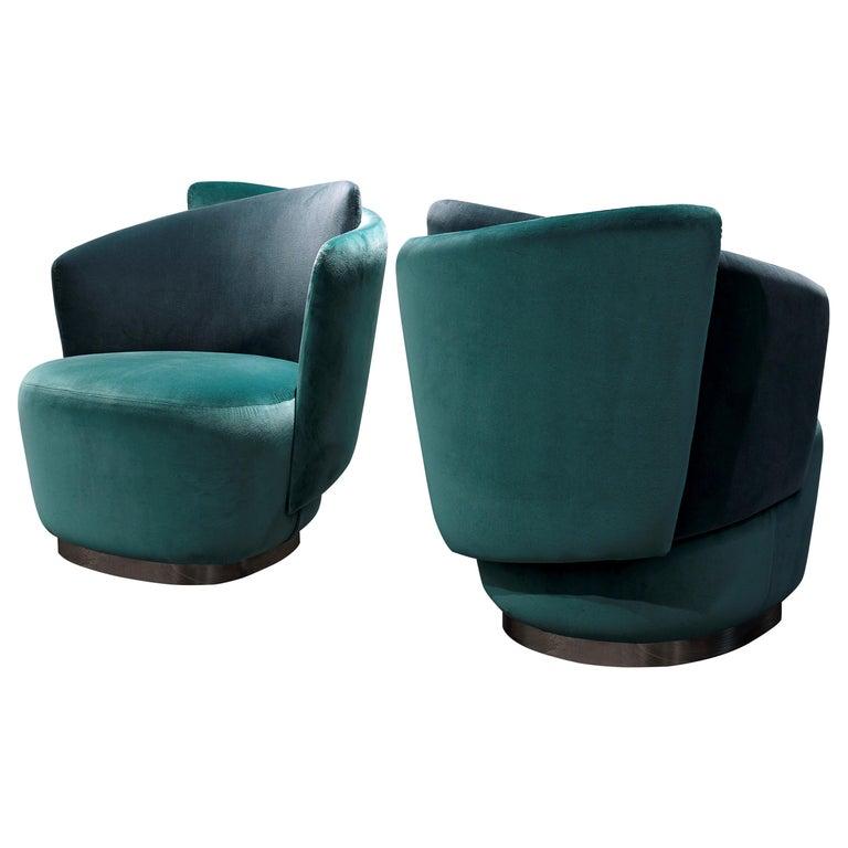 Italian Mid-Century Modern Inspired Armchair For Sale
