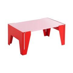Adolfo Abejon Contemporary Design 'Falcon' Pink Side Table