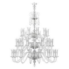 Diamante Neoclassical Handmade Crystal Chandelier I