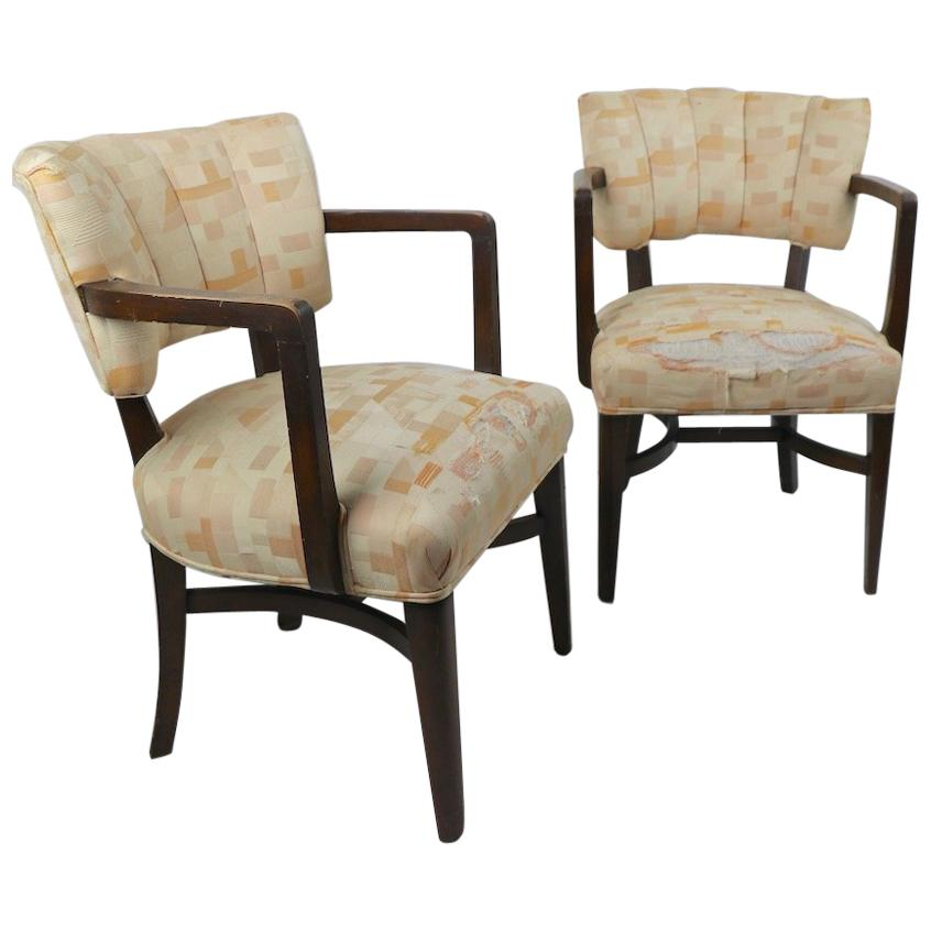 Pair of Art Deco Chairs after Rohde