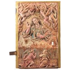 Tabernacle Door, Wood, Metal, 16th Century
