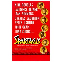 Spartacus American Original Film Poster, Saul Bass and Reynold Brown, 1960