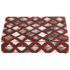 Moorish Influenced Abalone Shell Decorative Box