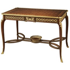 Louis XVI Style Centre Table Attributed to François Linke, circa 1890
