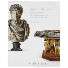 Christie's Two Late Regency Collectors, Philip Miles & George Byng, 1814-1845