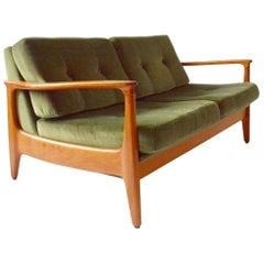 Very Rare Midcentury 2-Seat by Eugen Schmidt, 1960s