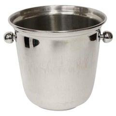 1990s NYC Waldorf Astoria Hotel Brass Ice Bucket