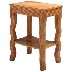 Bamboo Occasional Table by Vivai del Sud