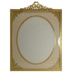 Huge French Gilded Bronze Photograph Frame, circa 1890