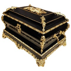 Gorgeous Napoleon III Jewelry Box, France, 19th Century