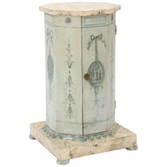 Neoclassical Venetian Painted Pot Stand Pedestal