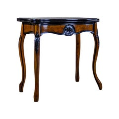 19th Century Louis Philippe Walnut Game Table