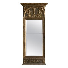 Early 19th Century Gustavian Mirror