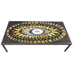 Rare Capron Coffee Table