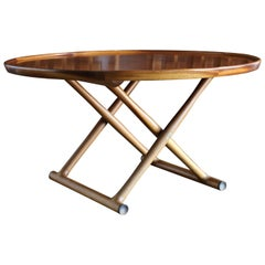 Large Egyptian Table by Mogens Lassen for A.J. Iversen, circa 1955